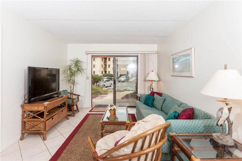 Ocean & Racquet 5116, 2 Bedrooms, Ocean View, Ground Floor, Pool, Sleeps 6 - Image 1 - Saint Augustine - rentals