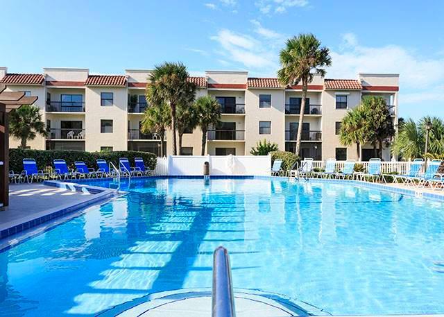 Ocean Village Club L25, 2 Bedrooms, Elevator, Heated Pool, Sleeps 6 - Image 1 - Saint Augustine - rentals