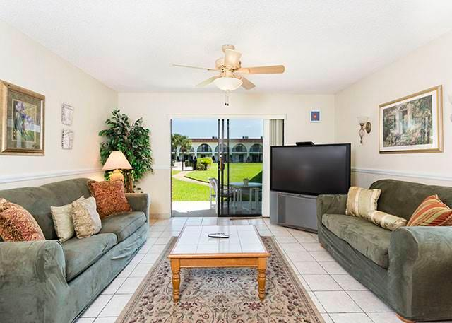 Ocean Club II 17, 2 Bedrooms, Ground Floor, Pet Friendly, Sleeps 8 - Image 1 - Saint Augustine - rentals