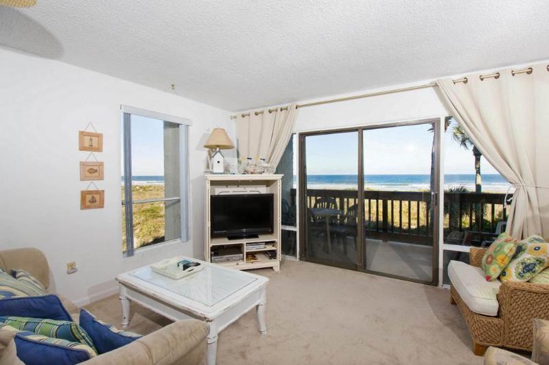 Island House A 211, 2 Bedrooms, Ocean Front, Pool, Tennis, WiFi, Sleeps 6 - Image 1 - Saint Augustine - rentals