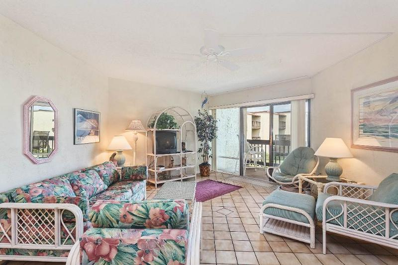 Island House F 229, 2 Bedrooms, Ocean View, Pool, Tennis, WiFi, Sleeps 6 - Image 1 - Saint Augustine - rentals