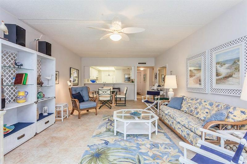 Island House G 118 ground floor, ocean view, Pool Tennis, St Augustine - Image 1 - Saint Augustine - rentals