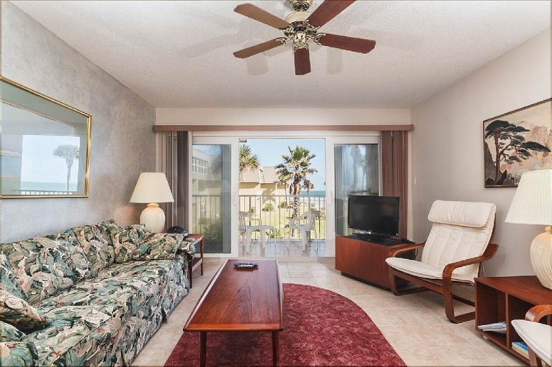 Coquina 203 B, 2 Bedrooms, Ocean Front, Pool, WiFi, Sleeps 6 - Image 1 - Saint Augustine Beach - rentals