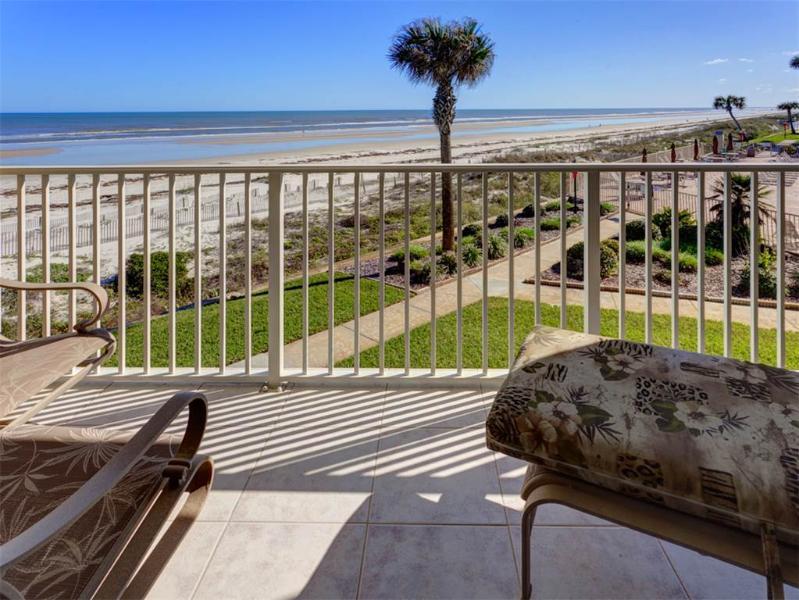Coquina A214, Luxury Ocean Front, 2 Pools, Tennis, new HDTV, Corner Unit - Image 1 - Saint Augustine - rentals