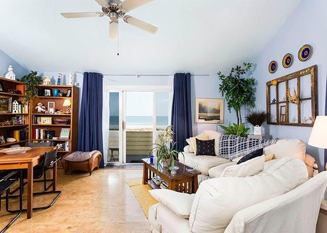 Quail Hollow B2-1U, 1 Bedroom, Ocean Front, Pool, Tennis, WiFi, Sleeps 2 - Image 1 - Saint Augustine - rentals