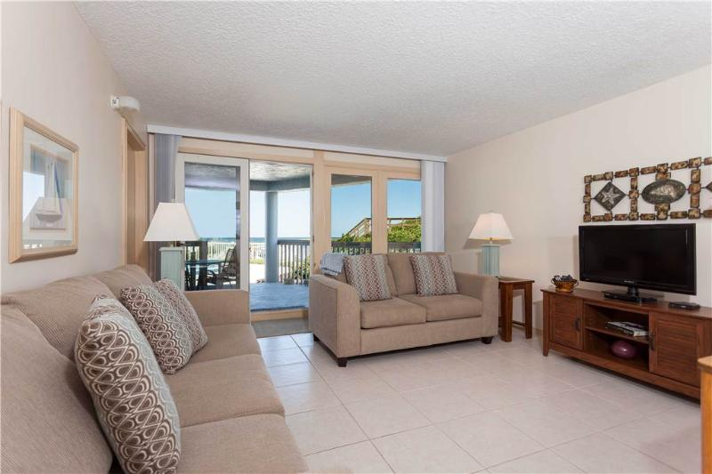 Ocean Eight 104, 3 Bedrooms, Ocean Front, Pool, WiFi, Sleeps 7 - Image 1 - Saint Augustine - rentals