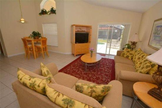 Cute 4 Bedroom 3 Bathroom Pool Home is Solana Resort. 154SA - Image 1 - Kissimmee - rentals