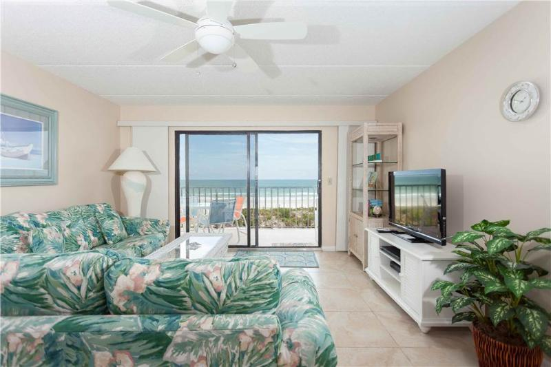 Windjammer 210, 2 Bedrooms, Ocean Front, Pool, Elevator, Sleeps 6 - Image 1 - Saint Augustine - rentals