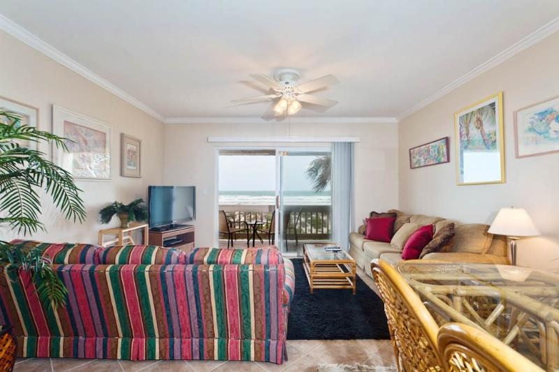 Four Winds E-10, Luxury Beach Front, 3 Bedrooms, 2 Pools - Sleeps 10 - Image 1 - Saint Augustine - rentals