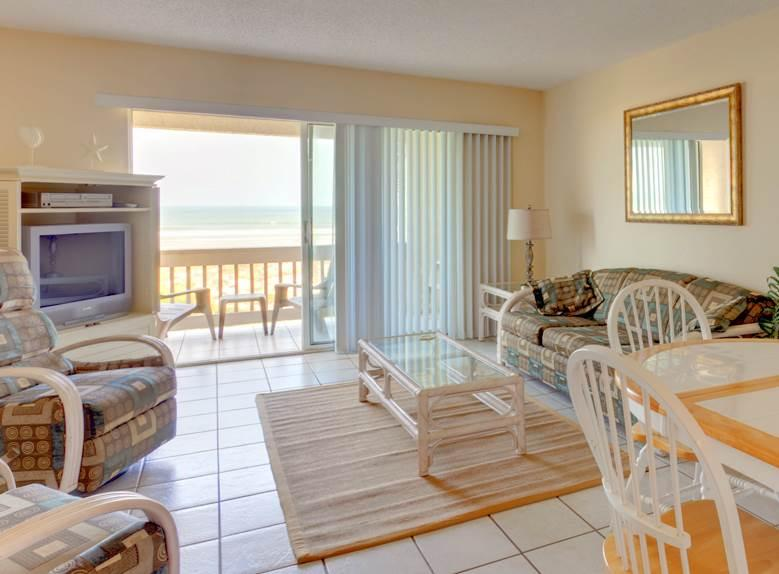 Four Winds I-10E Top, 2 Bedrooms, Ocean Front, Heated Pools, WiFi, Sleeps 6 - Image 1 - Saint Augustine - rentals