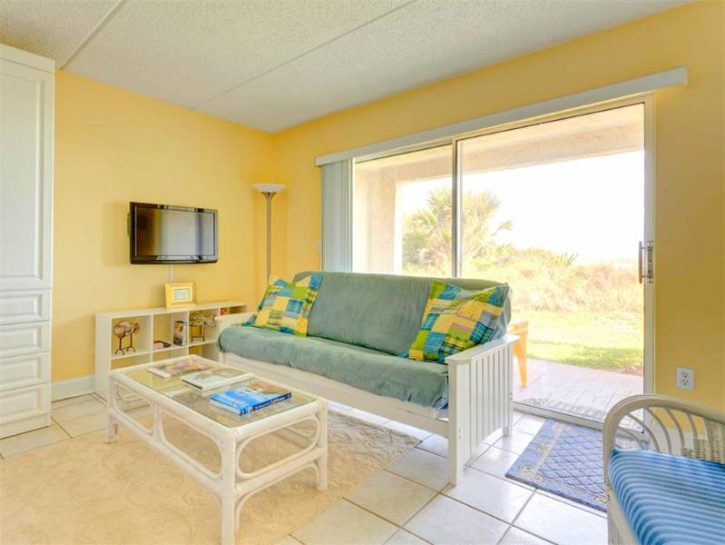 Four Winds I-10D , Ground Floor, OceanFront, HDTV, Wifi, 2 Heated Pools - Image 1 - Saint Augustine - rentals