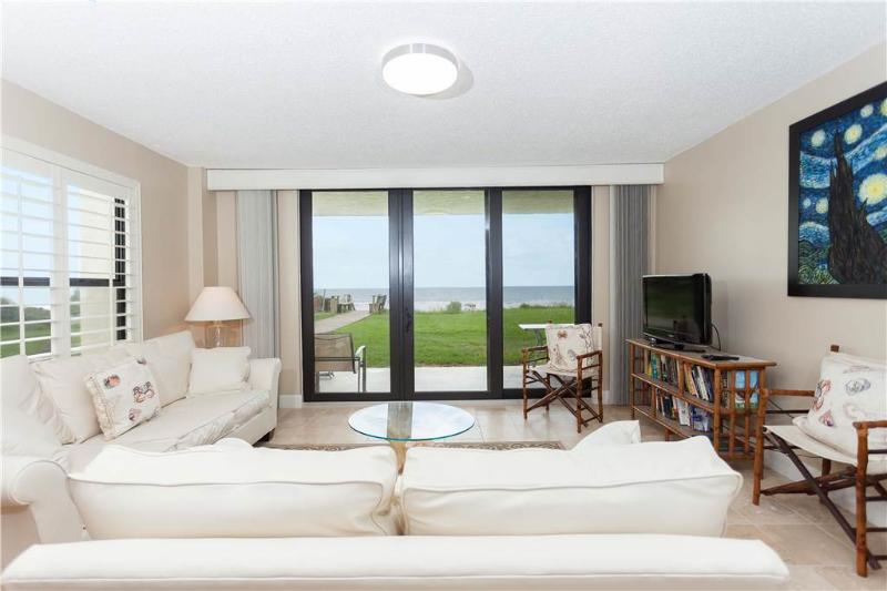 Sand Dollar II 101, 3 Bedrooms, Ocean Front, Ground Floor, Pool, Sleeps 6 - Image 1 - Saint Augustine - rentals