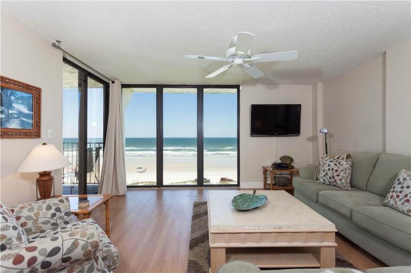 Sand Dollar II 503, 3 Bedrooms, Ocean Front, Top Floor, Pool, Sleeps 6 - Image 1 - Saint Augustine - rentals