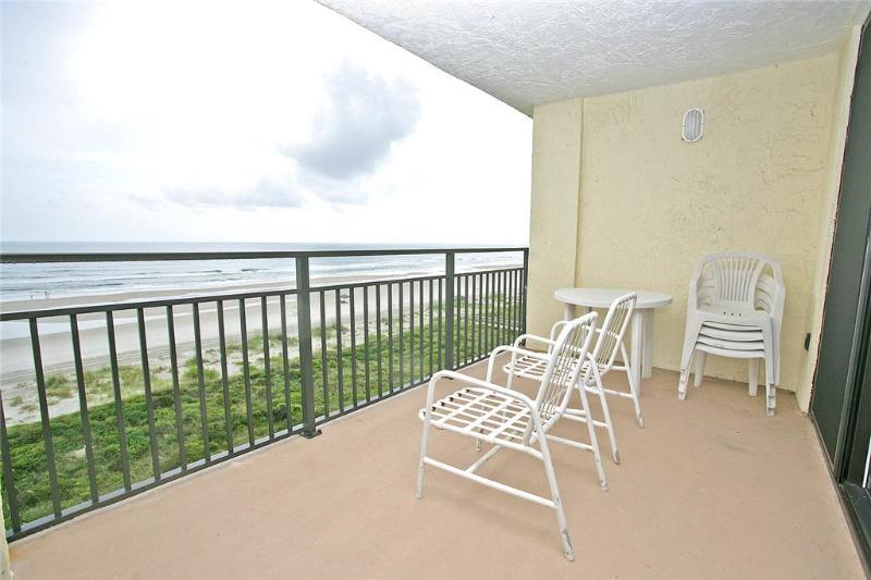 Sand Dollar III 502, 3 Bedrooms, Ocean Front, Top Floor, Pool, Sleeps 6 - Image 1 - Saint Augustine - rentals