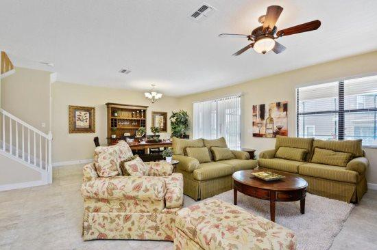 Contemporary 9 Bed 5 Bath Home in Champions Gate with Pool and Spa. 9150WD - Image 1 - Kissimmee - rentals