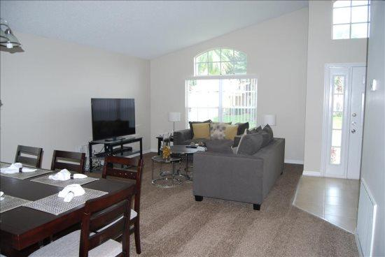 Lovely 4 Bedroom 3 Bathroom Pool Home in Westridge. 1307CC - Image 1 - Kissimmee - rentals