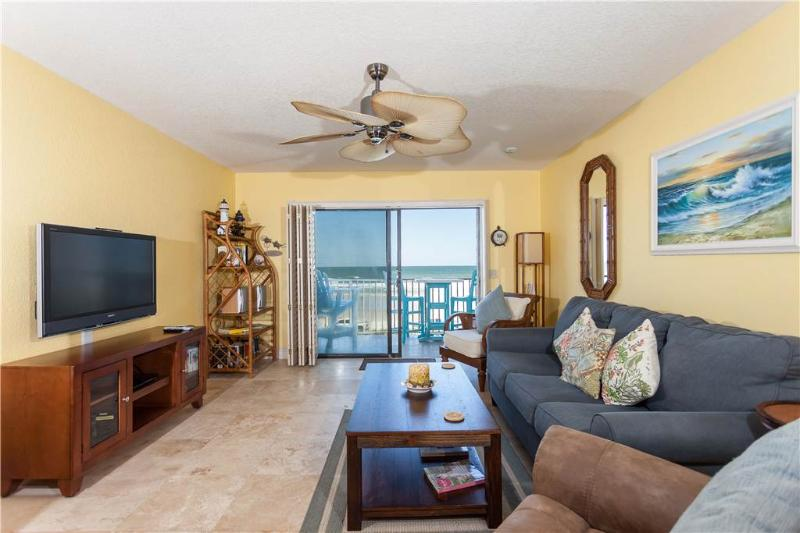 "Summerhouse 408, Ocean Front, New 42"" HDTV, 4 Heated Pools - Image 1 - Saint Augustine - rentals"