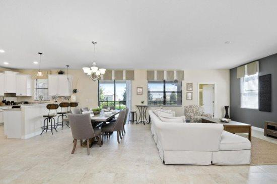 6 Bedroom ChampionsGate Golf Resort Pool Home. 1415RFD - Image 1 - Kissimmee - rentals
