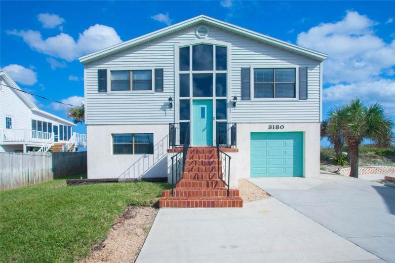 Turtle Cove, New Renovated Beach House, Ocean Front, walk to Vilano Town - Image 1 - Saint Augustine - rentals