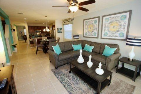 Uniquely Decorated 5 Bedroom Pool Home Minutes From Disney. 1355YC - Image 1 - Kissimmee - rentals