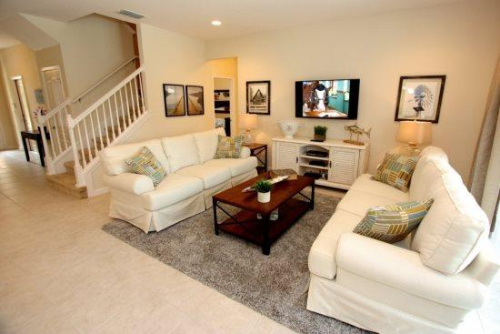 New Beautiful 7 bedroom Pool Home In Solterra Resort Sleeps 18. 5236OA - Image 1 - Kissimmee - rentals