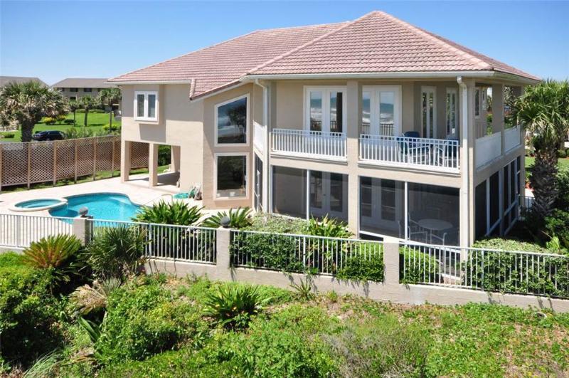 Ocean Delight, 4 Bedrooms, Ocean Front, Private Heated Pool, Sleeps 8 - Image 1 - Saint Augustine - rentals