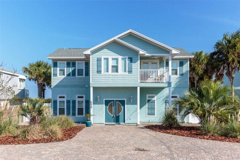 Peace of Paradise, 5 Bedrooms, Beach Front, Private Pool, Sleeps 14 - Image 1 - Saint Augustine - rentals