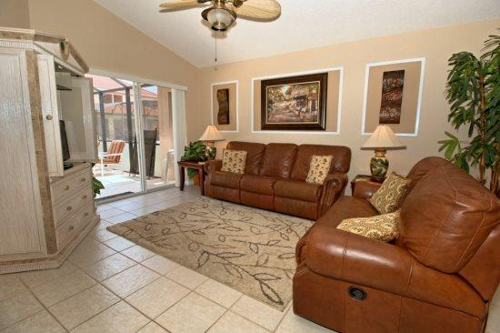 Relaxing 4 Bedroom 3 Bathroom Pool Home in Solana Resort. 114SA. - Image 1 - Kissimmee - rentals