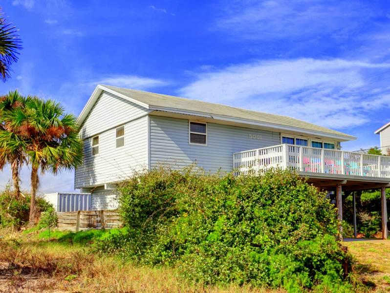 Playa Haus Beach House, Ocean View home with 2 large decks - Image 1 - Saint Augustine - rentals