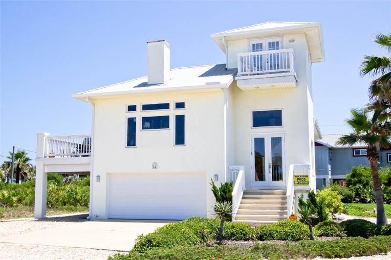 Coastal Cottage, 3 Bedrooms, Ocean View, WiFi, Sleeps 7 - Image 1 - Flagler Beach - rentals