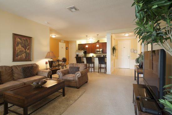 3 Bedroom Condo That Sleeps 8 By The Orange County Convention Center. 4816CA-202 - Image 1 - Orlando - rentals