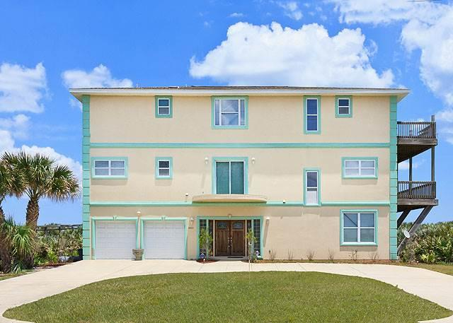 Miracle Eight - 8 Bedrooms, Sleeps 14, Beach Front - Image 1 - Flagler Beach - rentals