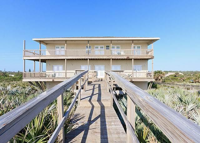 Miracle Eight, 8 Bedrooms, Ocean Front, WiFi, Sleeps 14 - Image 1 - Flagler Beach - rentals