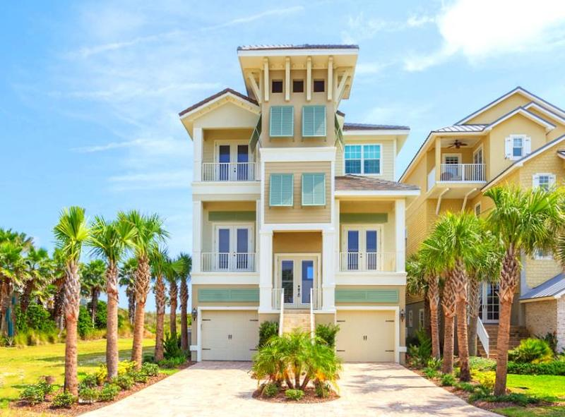 Cinnamon Beach Tiki Tides, Ocean Front, 7 Bedrooms, Pool, Spa, TIki Bar - Image 1 - Palm Coast - rentals