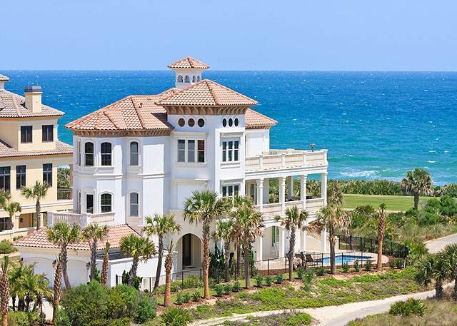 Hammock Beach Mansion, 6 Bedrooms, Ocean Front, Private Pool, Sleeps 14 - Image 1 - Palm Coast - rentals