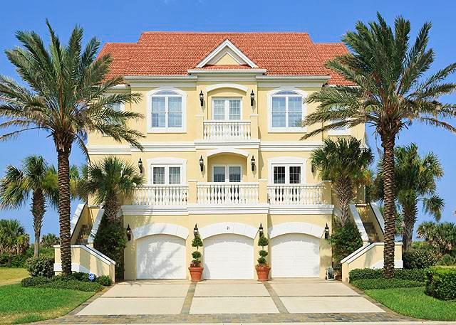 Bella Vista Mansion, 8 Bedroom, Beach Front, Pool, Elevator, Sleeps 14 - Image 1 - Palm Coast - rentals