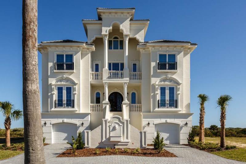Sea Princess Castle,10 bedroom beach front, private pool, spa, elevator - Image 1 - Palm Coast - rentals