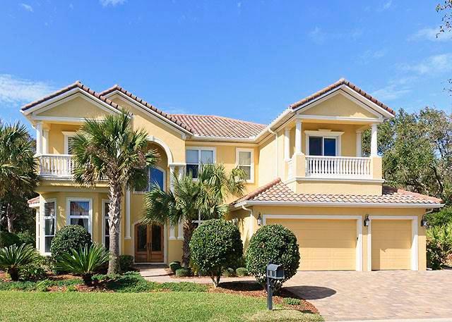 Versailles by the Sea, 8 Bedrooms, Ocean Hammock, Private Pool, Sleeps 14 - Image 1 - Palm Coast - rentals