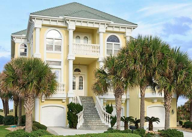 Ocean Ridge Mansion, 5 Bedrooms, Ocean Hammock, Private Pool, Sleeps 12 - Image 1 - Palm Coast - rentals