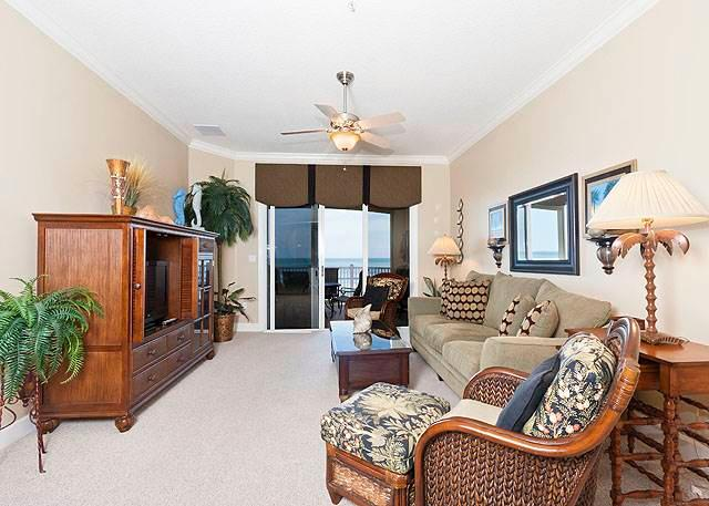 544 Cinnamon Beach Front, 4th Floor, Large Patio, Rocking Chairs, Wifi - Image 1 - Palm Coast - rentals