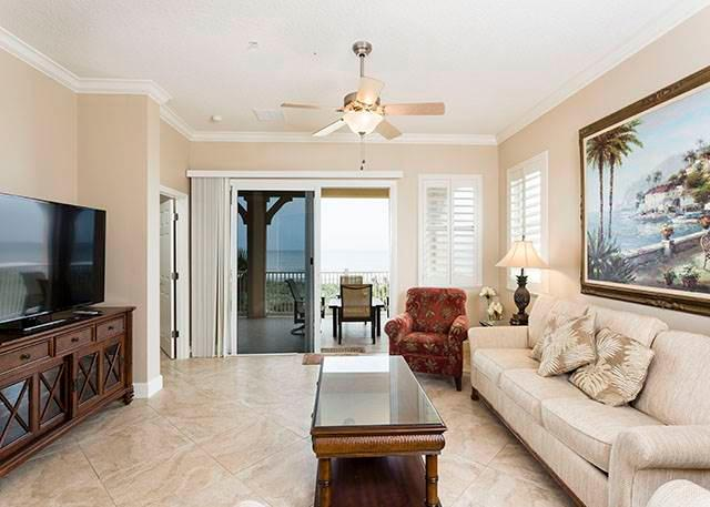 "Cinnamon Beach 835, 3rd Floor, Corner Unit, SouthEast Ocean Balcony, 60"" HD - Image 1 - Palm Coast - rentals"