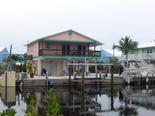 View of Home from the Water - FISHERMANS PARADISE - Islamorada - rentals