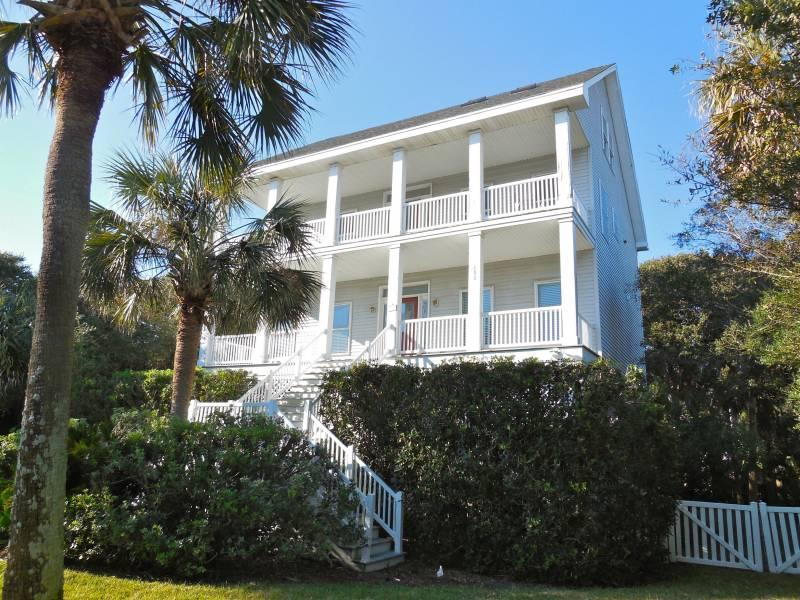 Exterior of Home - McCarolina - Folly Beach, SC - 4 Beds BATHS: 3 Full - Blue Mountain Beach - rentals