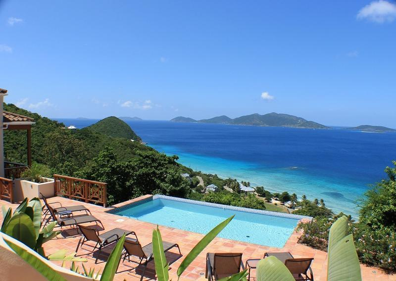 Alfresco - Ideal for Couples and Families, Beautiful Pool and Beach - Image 1 - Tortola - rentals