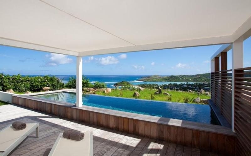 Modern Living with Incredible Views - Image 1 - Marigot - rentals