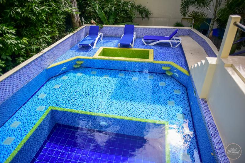 Really nice pool at the condo - BIG GROUPS OF 11! PH with 3 bd and private terrace - Playa del Carmen - rentals