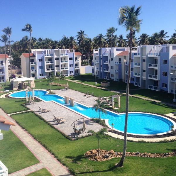 Sol Tropical common area - Sol Tropical 2BR, 2BA 1st flr NEW fresh decor #G2 - Bavaro - rentals