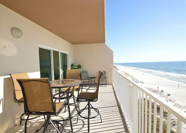 Additional View of Balcony - Crystal Shores West 106 - Gulf Shores - rentals
