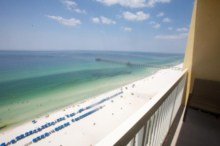 Amazing Views of the Gulf of Mexico and Pier - 1 1807 Calypso Resort Towers Tower I - Panama City Beach - rentals