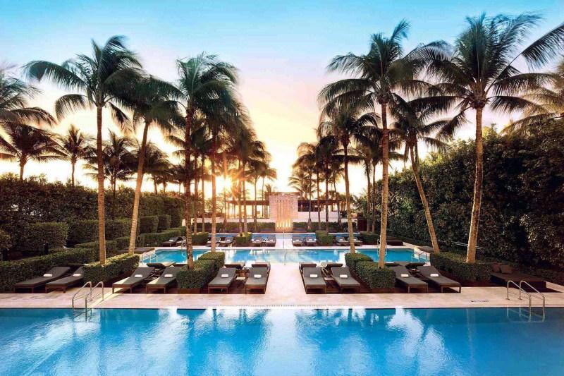 Setai Miami Beach | The Setai Miami | The Setai Miami Beach - Living Room - Setai Hotel South Beach    1 Bedroom Suite - Miami Beach - rentals